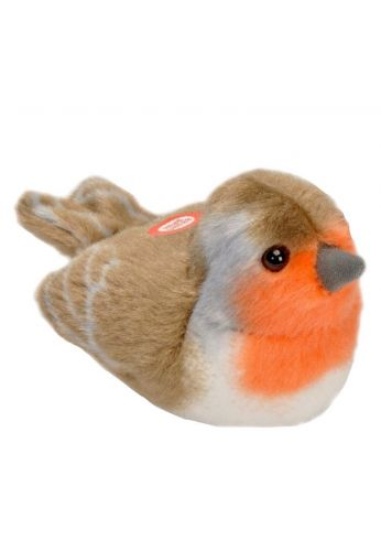 Peluche sonore Rouge-gorge